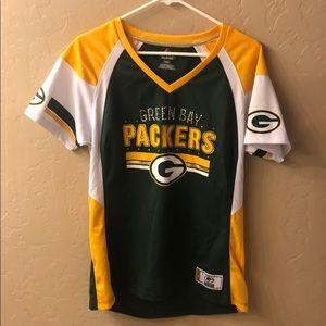Green Bay Packers women shirt/jersey